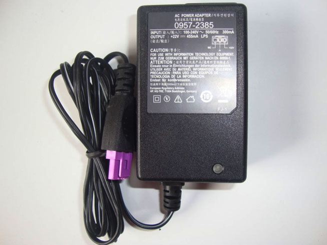 HP 0957-2385 - Zasilacz kompatybilny ze HP 1518 1510 1010 Printer 22v 455ma Charger