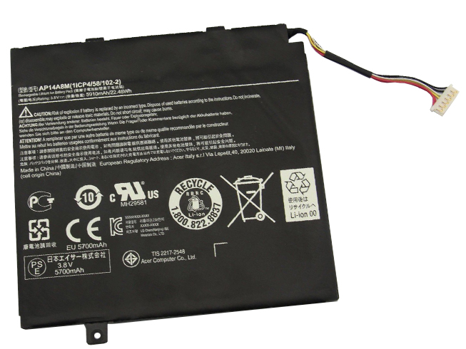 AP14A8M Baterie do laptopów 5910mAh/22.46wh 3.8V