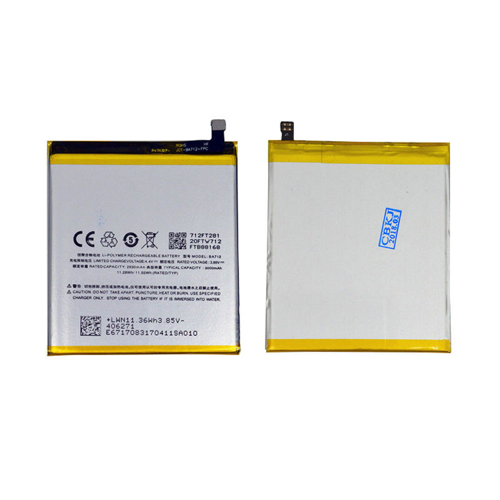 BA712 Baterie do laptopów 930mAh/11.28WH 3.85V/4.4V