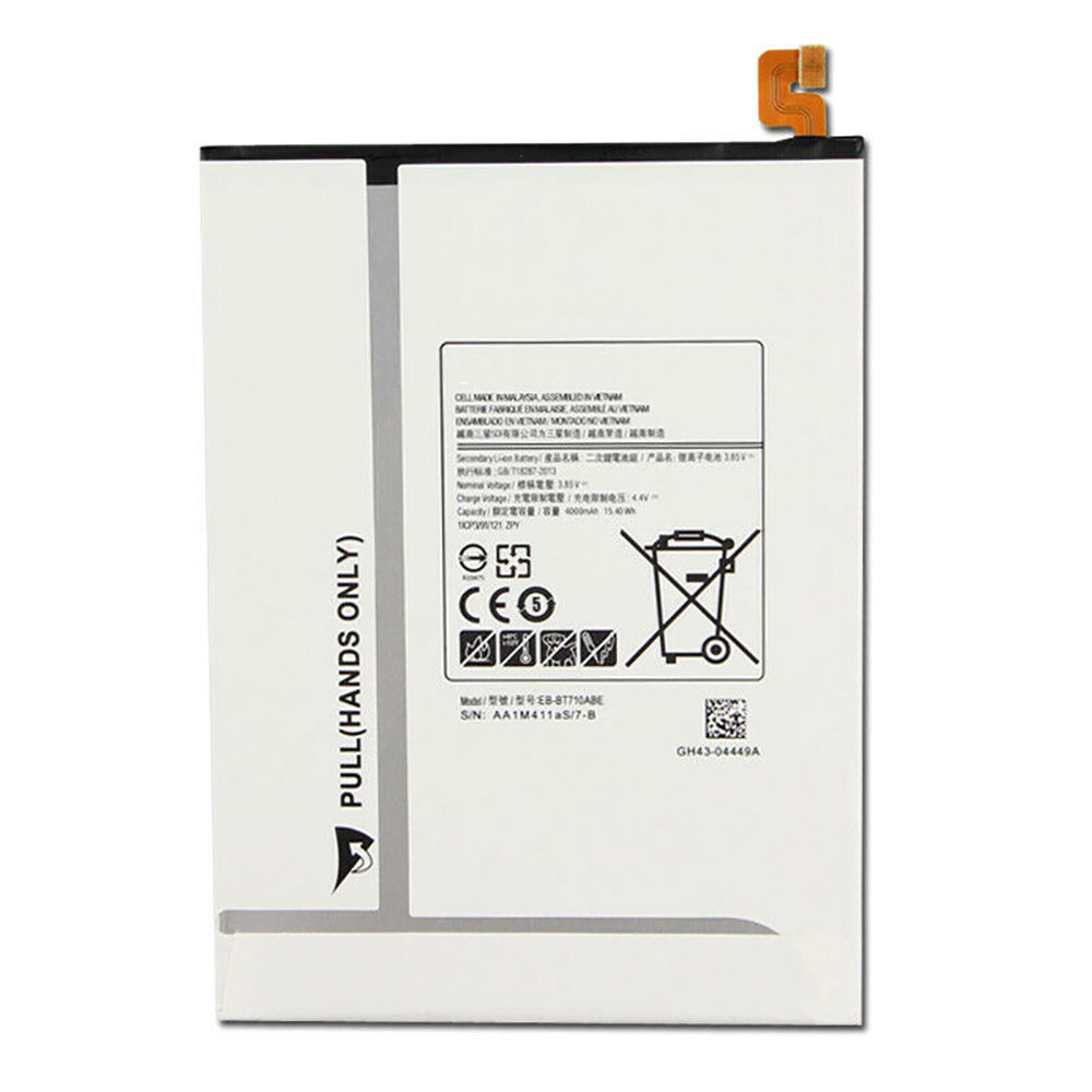EB-BT710ABE Baterie do laptopów 4000mAh/15.40WH 3.85V/4.4V