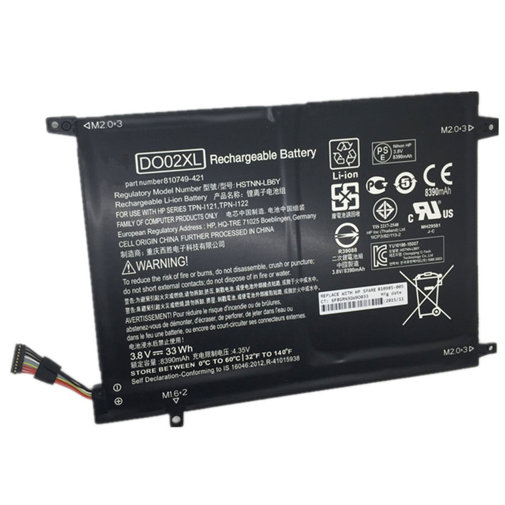 DO02XL Baterie do laptopów 33Wh 3.8V