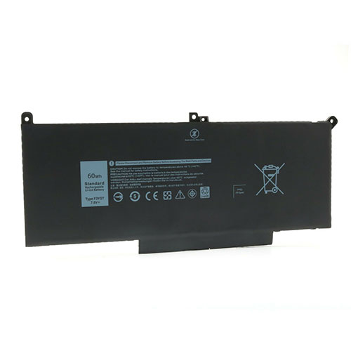 F3YG Baterie do laptopów 60Wh 7.6V