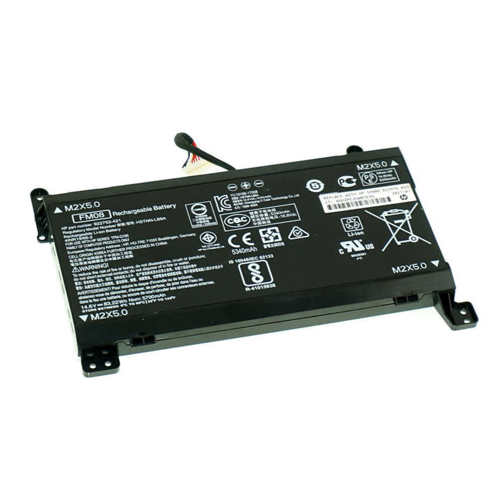 FM08 Baterie do laptopów 5675mAh/86WH 14.4V/16.8V