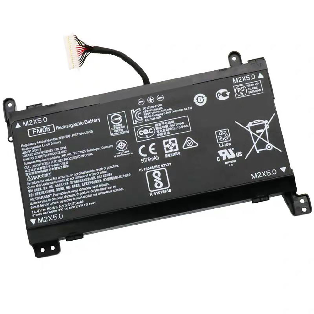 FM08 Baterie do laptopów 86Wh/5973mAh 14.4V