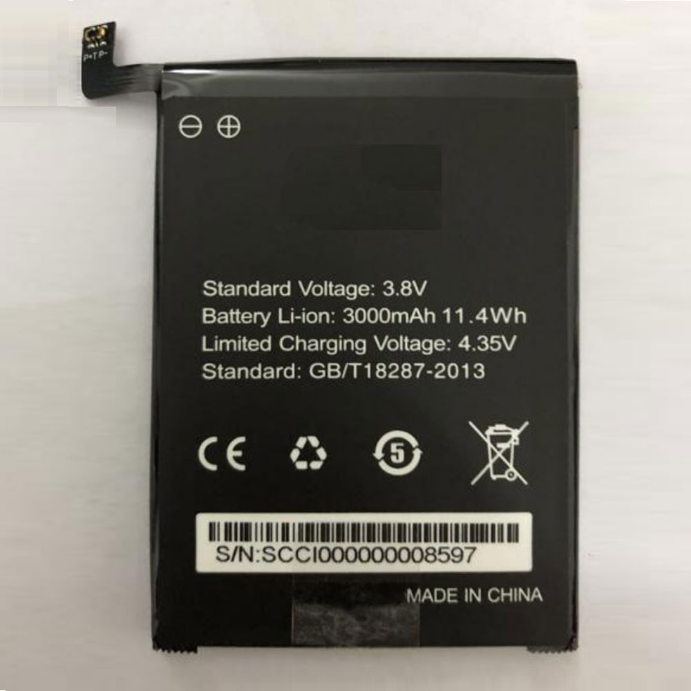 ZOJI Baterie do laptopów 3000mAh /11.4Wh 3.8V/4.35V