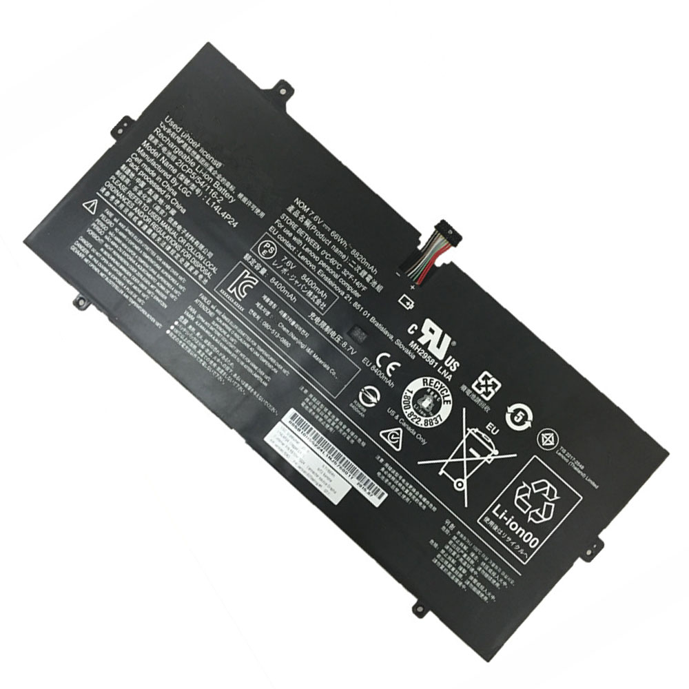L14L4P24 Baterie do laptopów 66Wh/8800mAh 7.5V