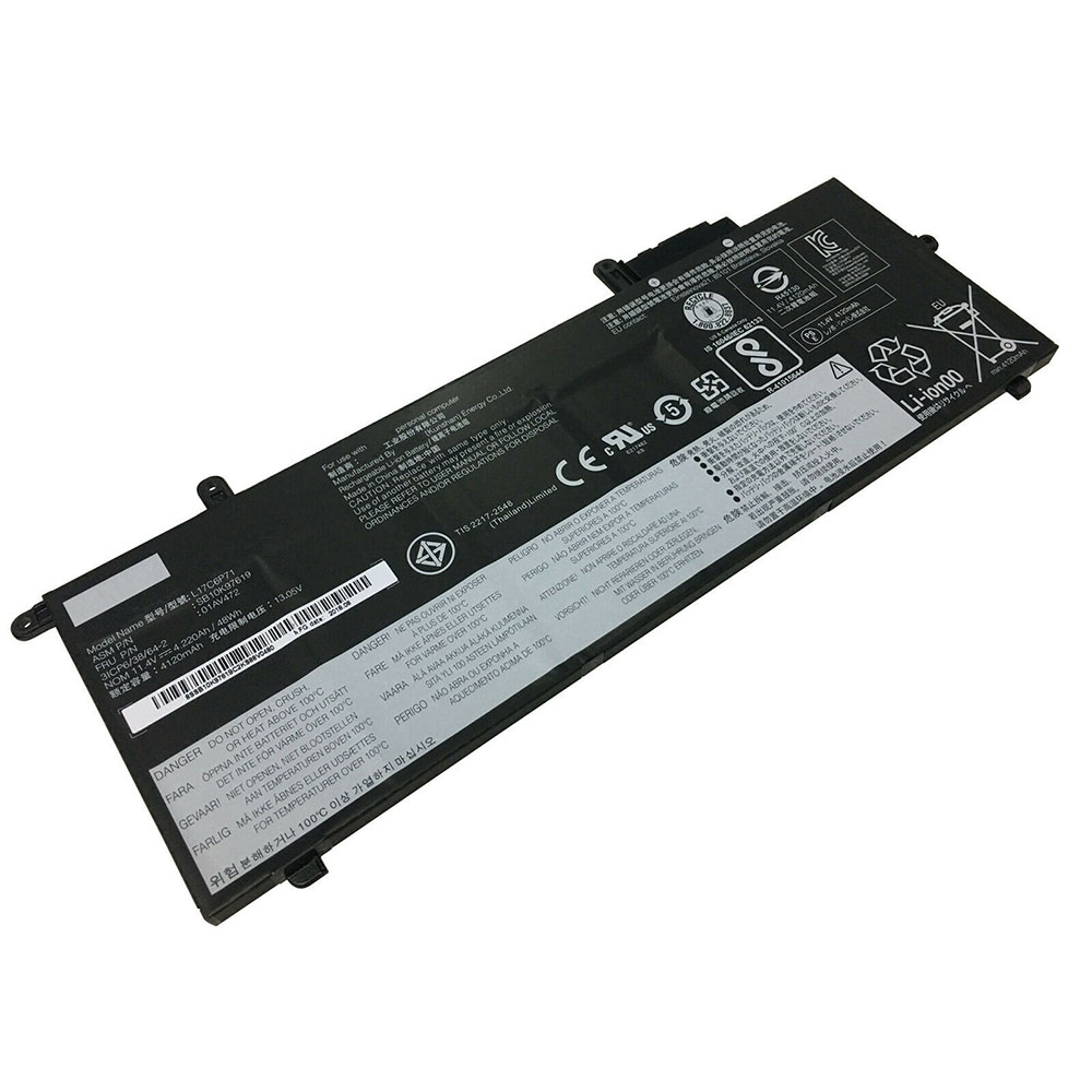 L17C6P71 Baterie do laptopów 4120mAh/48WH 11.4V/13.05V