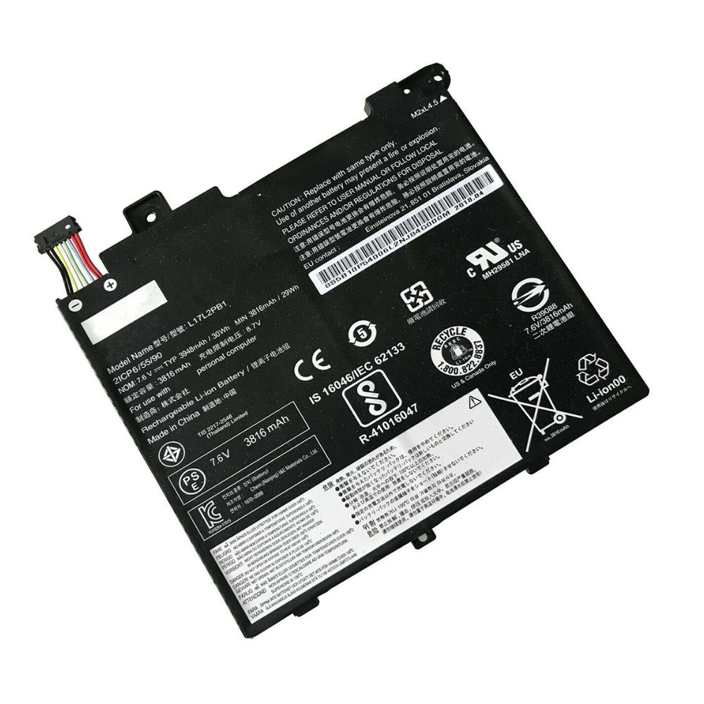 L17L2PB1 Baterie do laptopów 3948mAh/30WH 7.6V/8.7V