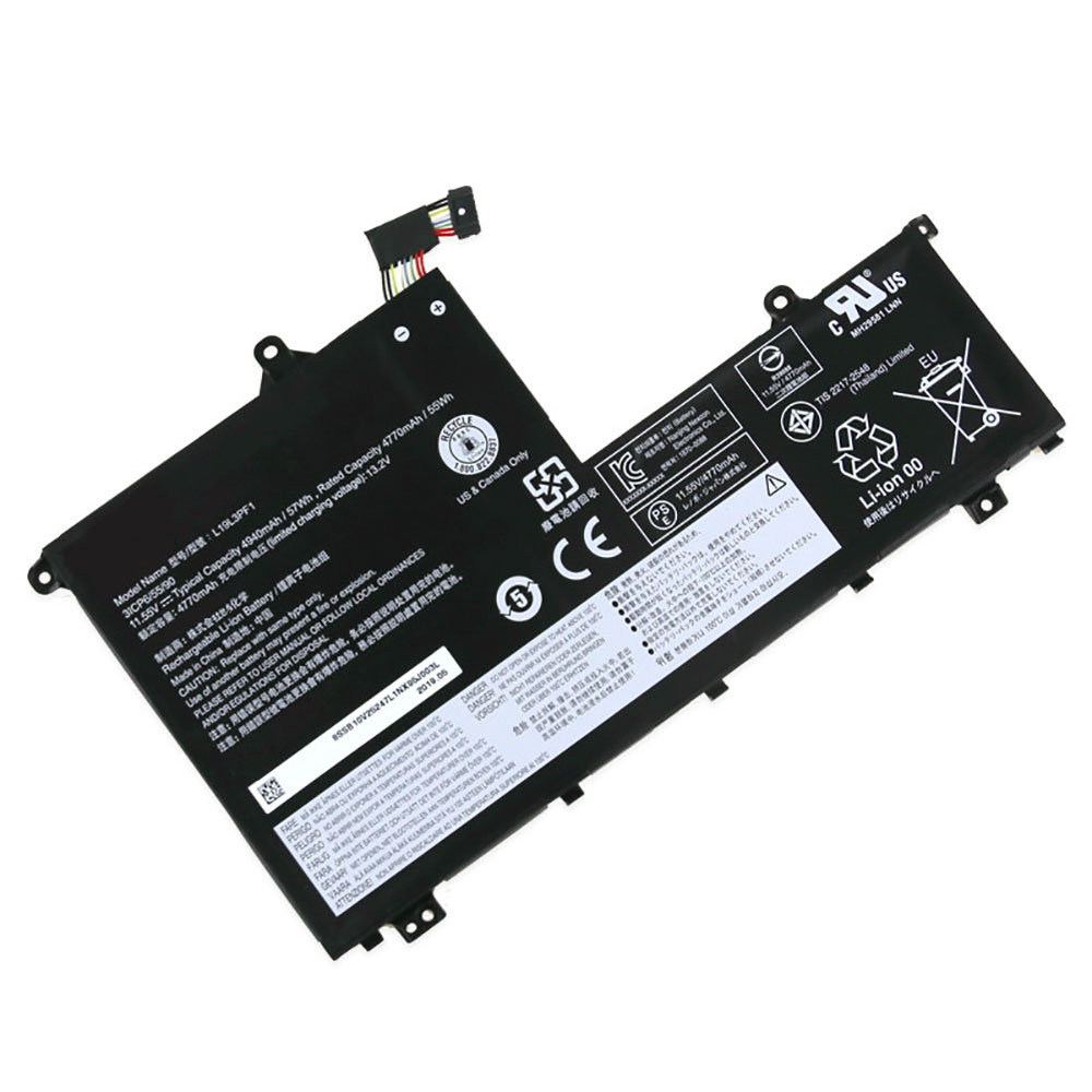 L19L3PF1 Baterie do laptopów 4770mAh/55WH 11.55V/13.2V