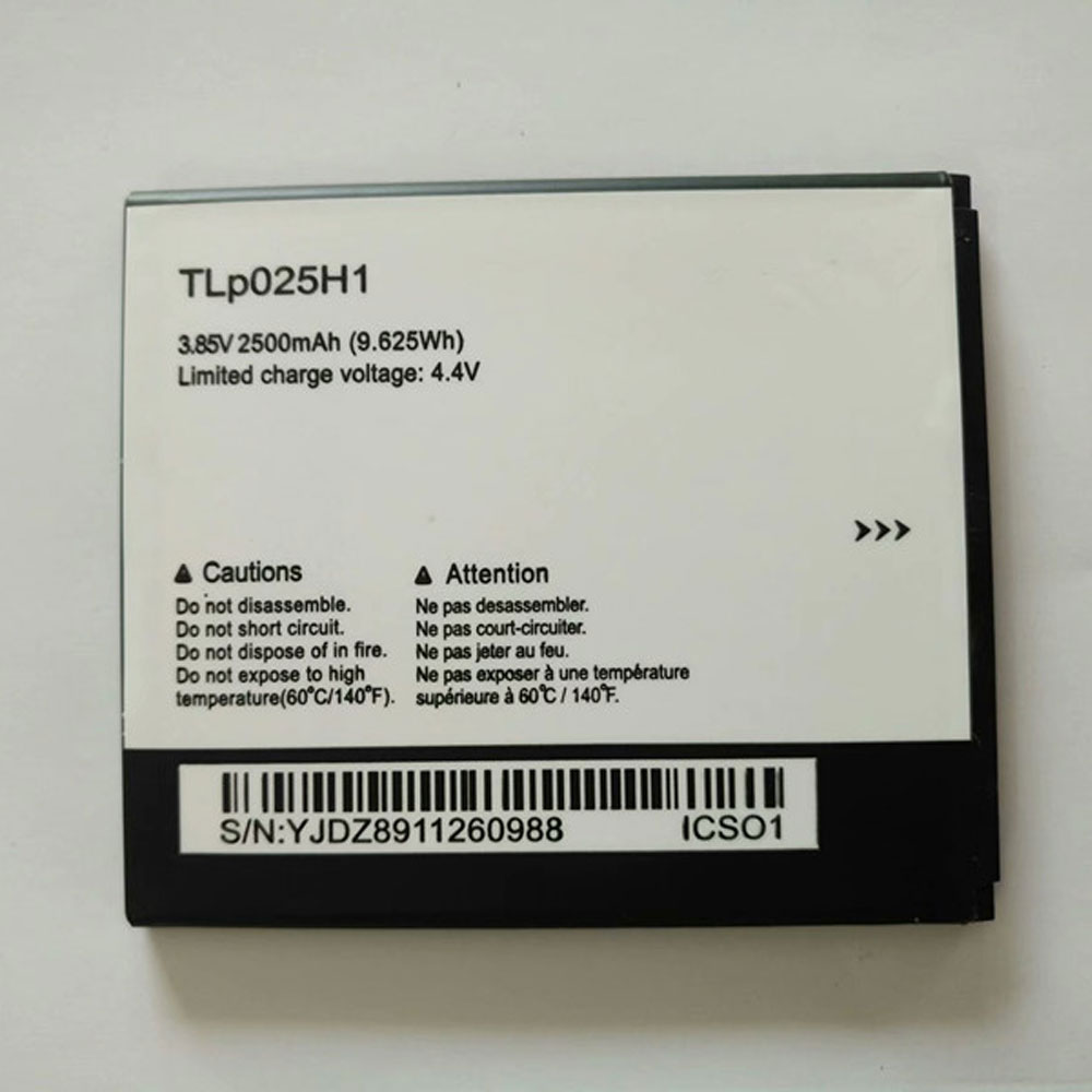 TLP025H1 Baterie do laptopów 2500mAh/9.625Wh 3.85V/4.4V