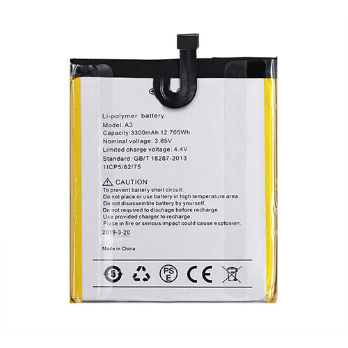 A3 Baterie do laptopów 3300mAh/12.705WH 3.85V/4.4V