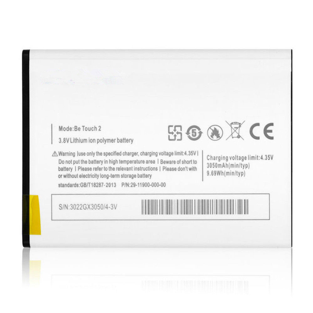 Be_Touch_2 Baterie do laptopów 3050mAh/9.69WH 3.8V/4.35V