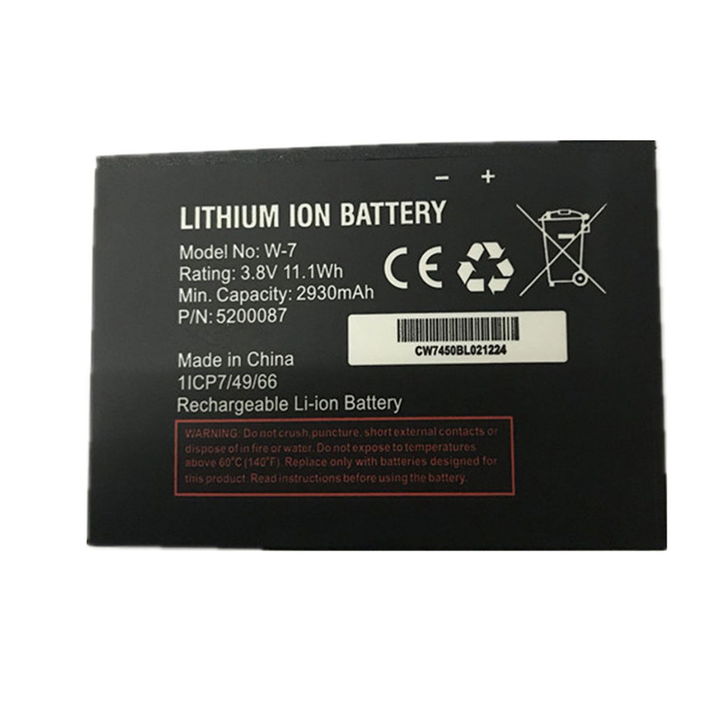 W-7 Baterie do laptopów 2930mAh/11.1Wh 3.8V